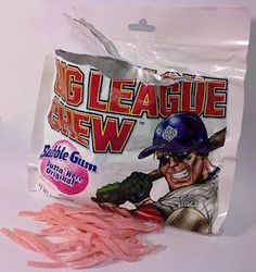 Little League + Big League Chew = One Happy Kid!