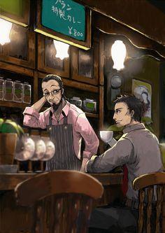 Persona 5 Sojiro Sakura & Dojima. These two would get along amazingly well