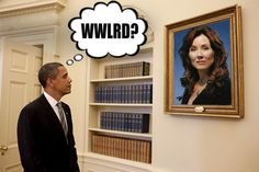 I think all world leaders should ask themselves: What Would Laura Roslin Do?