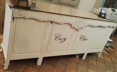 Vintage Schränke - Ladentheke Tresen Verkaufstheke Theke Counter - ein Designerstück von Cozy-Chic bei DaWanda