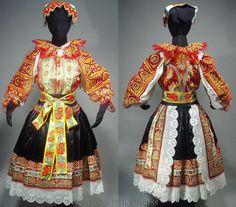 — slovak-folk-costumes: Area of village Krakovany,...