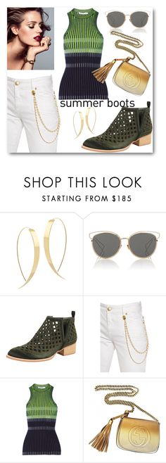 """Summer Fling..Dont mean a Thing"" by looking-for-a-place-to-happen ❤ liked on Polyvore featuring Lana, Christian Dior, Jeffrey Campbell, Pierre Balmain, T By Alexander Wang and Gucci"