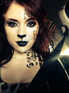 Cheetah makeup and Costume Ideas                                                                                                                                                                                 More