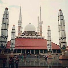 Central Java big Mosque - Indonesia