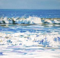 """""""Windswept"""" - Original Fine Art for Sale - © Ken Devine"""