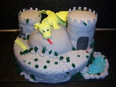 Dragon cake  Cake by Ria123