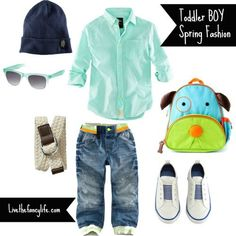 Toddler boy spring fashion from H, baby gap and more