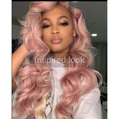 2020 Pink Hair Lace Frontal Wigs Pink And Purple Split Hair Dusty Pink Lace Front Wig Pink Purple And Blue Hair Messy Bun Curly Hair, Short Wavy Hair, Curly Hair Styles, Natural Hair Styles, Natural Wigs, Black Girl Pink Hair, Pastel Pink Hair, Pink Wig, Pink Hair Streaks