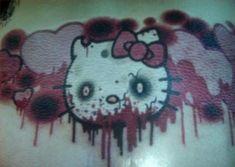Hello Kitty zombie tattoo. :D