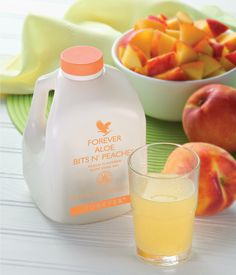 Forever Aloe Bits N' Peaches - what an absolute delight! Perfect for children and sweet-toothed adults alike! This Aloe Drinking Gel contains nutritious pieces of aloe vera bathed in the flavour of sun-ripened peaches! Want to introduce the benefits of Aloe to the whole family? This is for you, what are you waiting for?  #AD #Click2Buy
