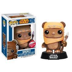 This is the Star Wars Wicket POP Vinyl Figure. It's produced by the nice folks over at Funko and it's good to see everyone's favorite little Ewok in POP vinyl form! Star Wars fans are sure Figurines D'action, Figurine Star Wars, Pop Figurine, Star Wars Film, Funko Pop Star Wars, Star Wars Toys, Toy Art, Pop Vinyl Figures, Objet Wtf