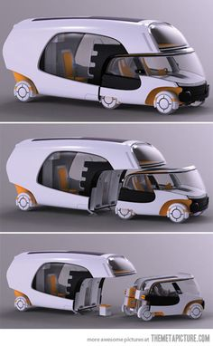 Amazing Modular Motorhome…Stop it! Who thought of this? Wow.