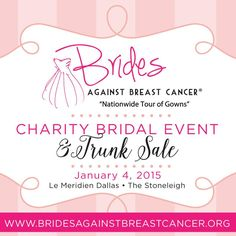 Brides Against Breast Cancer National Tours of Gowns