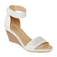 706e4ef8a709 CL by Laundry Womens Harmoni Wedge Sandals. JCPenney