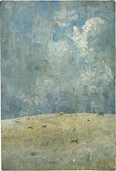 Arthur Boyd - Landscape With Grazing Sheep - 1937 Art Painting, Landscape Paintings, Australian Art, Painting, Australian Painting, Moody Art, Landscape Art, Australian Painters, Interesting Art