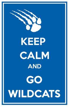 University of Kentucky Wildcats Keep Calm & by TheFashionistaFan, $12.00