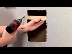 """HouseSmarts DIY """"We're Patching a Hole in Drywall"""" Episode 100"""