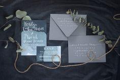 Mood Indigo Wedding Invitation Suite | Native State Design Co.