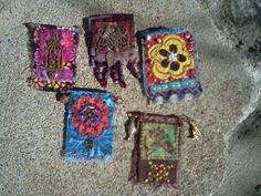 Fabric Brooches by Allie Thompson of Creative Caravan