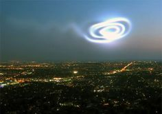 Strange Happenings The Norway spiral comes to mind when TheWeatherSpace.com received photographs and even an amazing video of the event. An object swooped down from the sky and then returned in a brilliant display on Friday night across the Western Canada. Three different photographers have given their photos to The photo show a very similar shape and mysterious object off the coast of Canada. The object is not a missile as one photograph from the beach has the trajectory curving up! What is…