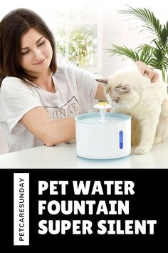 Pats struggle with sufficient levels of hydration, too. This product will fix the issue of drinking water well for pets and you don't have to think about not preparing drinking water for pets while you're busy with the job. This creative fountain inspires your pet to drink more water, with a fun concept keeping her safe and hydrated. Outdoor works also encourage pets to enjoy the sun. #petwaterfountain #catwaterfountain #bestpetsafewaterfountains #catwaterfountainstainlesssteel Cat Water Fountain, Drink More Water, Water Well, Enjoying The Sun, Pet Safe, Drinking Water, Concept, Pets, Creative