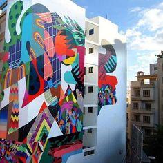 Muro & 3ttman! - Canary Islands, Spain. #muro #3ttman #canaryislands #spain #graffiti #streetart #urbanart #elgraffiti #art #mural @mur0ne @3ttman