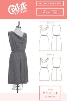 Myrtle by Colette Patterns, it wouldn't be hard to draft sleeves as well