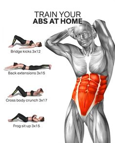 Having a flat stomach and defined abs is a body goal for every woman. But, excuses don't burn calori Fitness Workouts, Gym Workout Videos, Abs Workout Routines, Gym Workout For Beginners, Fitness Workout For Women, At Home Workouts, Weight Workouts, Trainer Fitness, Workout Plans