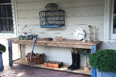 Chapel Side Table - rabbit trap timber
