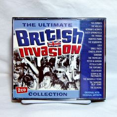 Ultimate British Invasion Collection by Various Artists CD, Dec 2002 2 Discs #FolkCountryRock
