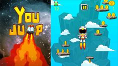 You Jump Game With AdMob by rouse_spirit About this game Just jump up as high as you can. Springs and so many things will help you. The only problem is gravity. Move your character left and right as swift as you can. Sky is open. Feel free to fly up there. The item is pa