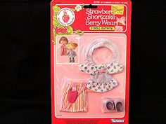 Vintage 1980's Strawberry Shortcake Doll Clothes in Package by TreasuresPast4U