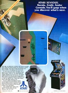 Silver polyester gloves not included. Atari coin-op (1983).