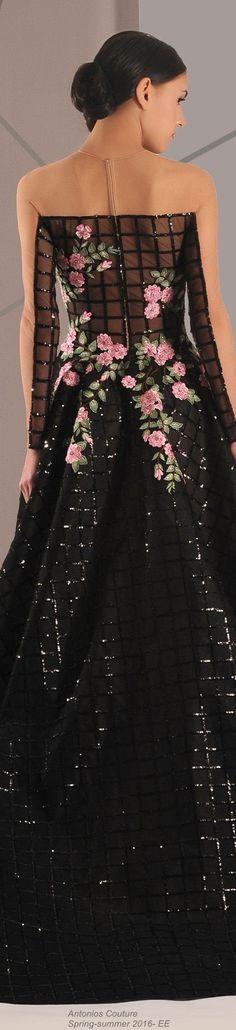 Antonios Couture  Spring-summer 2016- EE