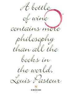 wine quotes | Louis Pasteur Wine Quote