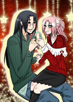 Itasaku Christmas 2 by AmyNinkai on DeviantArt