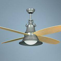 "52"" Craftmade Union Galvanized Wet Location Ceiling Fan - #T4049   LampsPlus.com"