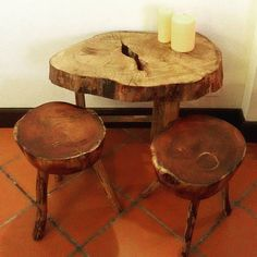 Chestnut slab coffee table.  #woodwork #chestnut #coffee #table #coffeetable #rustic #rusticfurniture #chainsaw #router #solidwood #furniture #woodslab #slabtable #liveedge #diy #sidetable