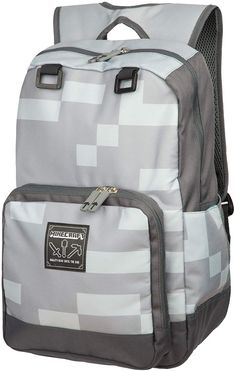 online shopping for JINX Minecraft Miner Kids Backpack (Grey, School, Camping & Fun from top store. See new offer for JINX Minecraft Miner Kids Backpack (Grey, School, Camping & Fun Minecraft Backpack, Hiking Backpack, Mini Backpack, Travel Backpack, Grey Backpacks, School Backpacks, School Bags, Kids, Ninjas