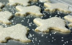 Ethel's Sugar Cookies... Recipe from a 1960's version of the Betty Crocker Cookbook... tried & true...  THE cutout cookie, in my book!