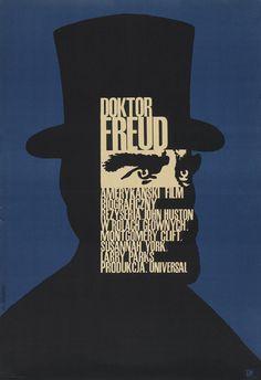 """Freud"" (1962). Director: John Huston."