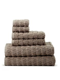 Bristol Collection Towel Set (6 PC) by Kassatex at Gilt