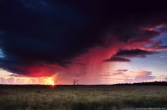 Thunderstorm at sunset by Olha Rohulya on 500px