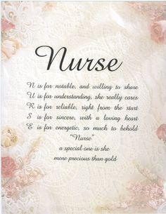 nurses poems to print | if you would like to call for availability I will be glad to let you ...