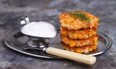Fritters of minced meat with pumpkin