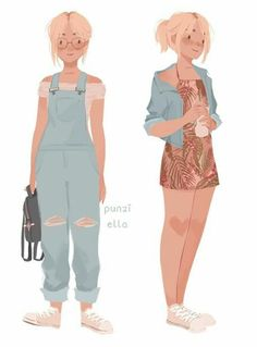Character personality inspiration, Character design inspiration