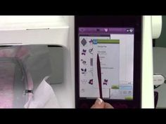 Husqvarna Viking Designer Ruby 68 Embroidery Quick Help - YouTube