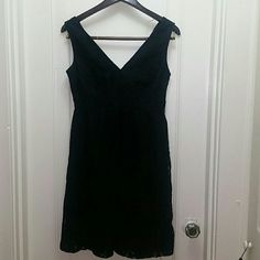 NWT Soma Black Lace Dress Perfect condition. 55% nylon 45% polyester. Lining is 92% polyester 8% spandex Soma Dresses
