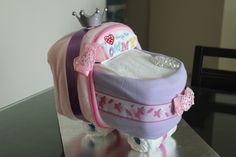 Diaper stroller for a princess