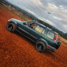 Red dirt Crv
